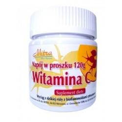 Naturalna Witamina C  w proszku -MITRA -120g
