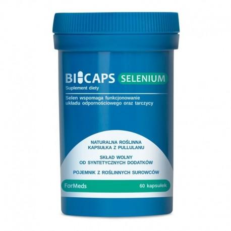 dla  wegetarian i wegan  - BICAPS- SELENIUM - 60 kaps.