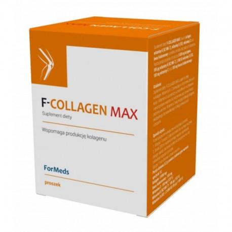 bez konserwantów w proszku - F-COLLAGEN Max  - 30 porcji