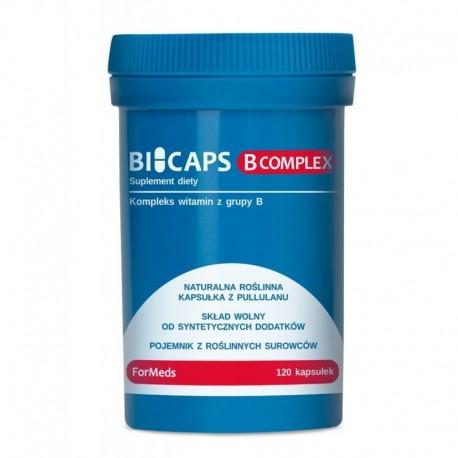 dla wegetarian i wegan - BICAPS - B COMPLEX - 120 kaps.