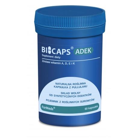 Wegańskie -BICAPS® ADEK-ForMeds- 60 kaps.